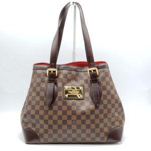 Louis Vuitton Hampstead MM Damier Shoulder Bag